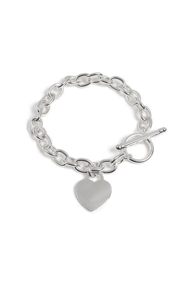 Muse Heart T-Bar Bracelet