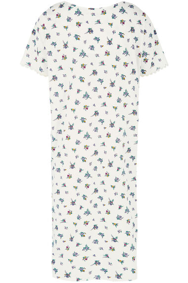 Sprig Floral Print Nightdress