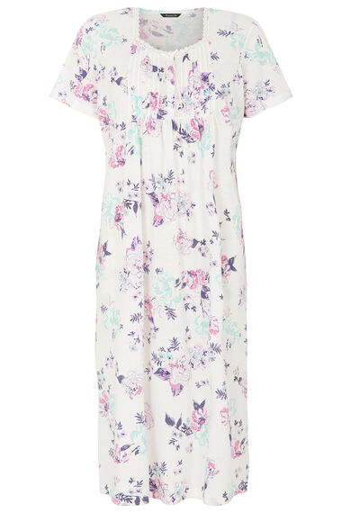 Large Floral Nightdress