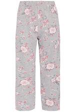 Grey Floral Pyjamas