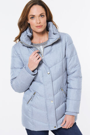 Textured Padded Jacket