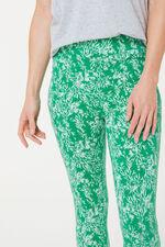 Mono Leaf Crop Legging