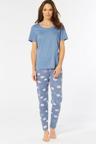 Cloud Print Pyjama Set