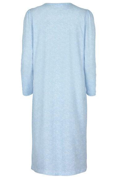 Blue Spot Print Nightdress