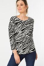 Zebra Print Jumper