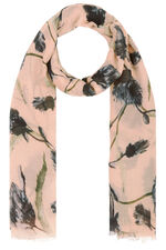 Totes Thistle Print Scarf