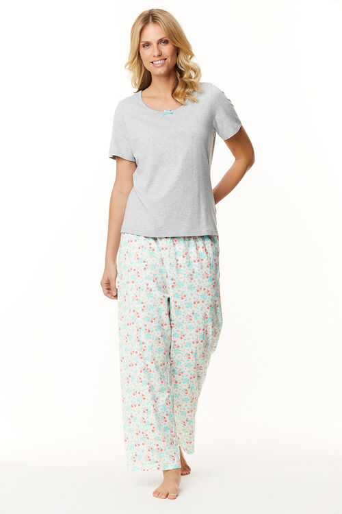 Floral Print Gift Wrapped Pyjama Set