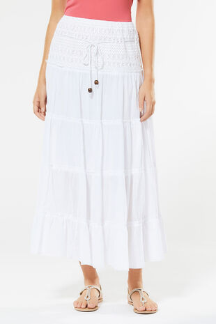 Izabel Tiered Maxi Skirt