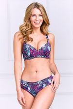 Dorina Feather Print Padded Bikini Top