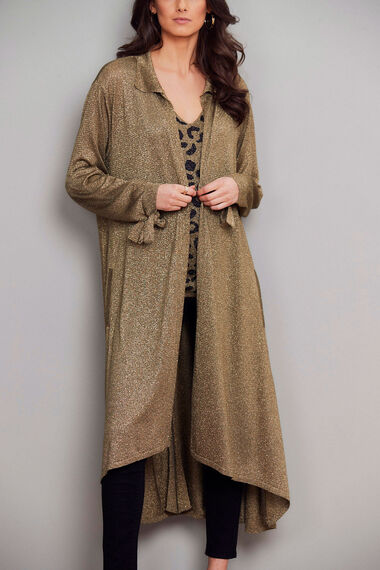 Join Us Long Shimmer Cardigan