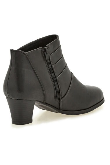 Cushion Walk Block Heel Ankle Boot