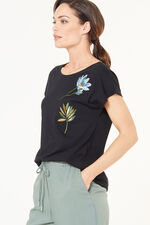 Badge Embroidered T-Shirt
