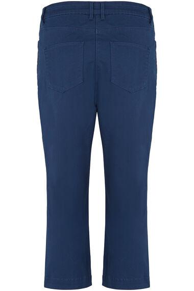 Side Stripe Lolly Capri Trouser