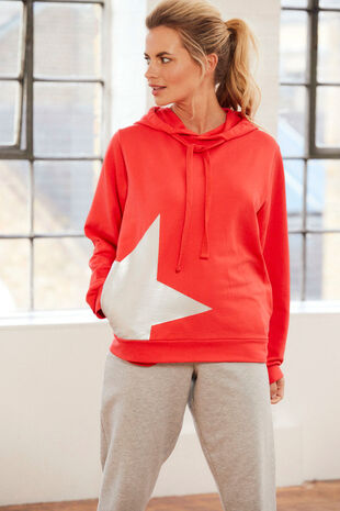 NVC Activewear Star Stamp Hoody