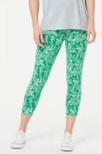 Mono Leaf Crop Legging