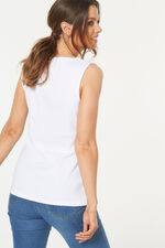 Square Neck Basic Vest