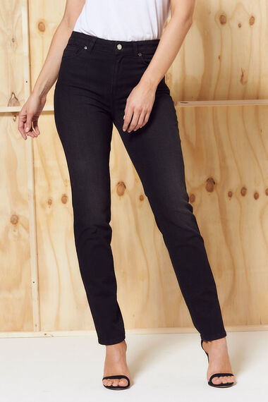 Nine To Six Straight Leg Jeans