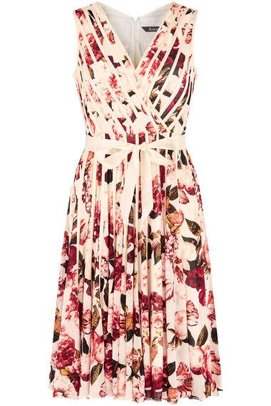 Wrap Front Ribbon Dress