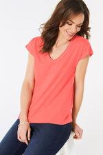 Diamante Neckline T-Shirt