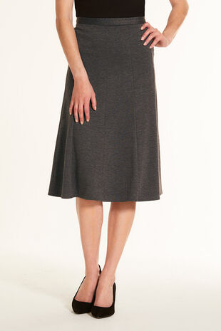 f715f4a30cb Ponte Panel Skirt