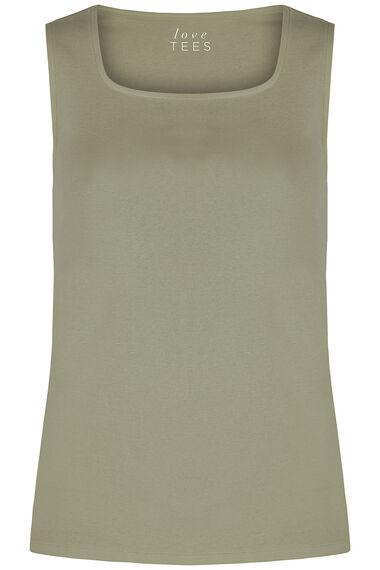 Square Neck Basic Vest
