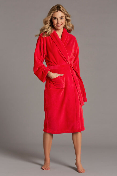 Gift Wrapped Red Dressing Gown