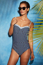 Tile Print Multiway Swimsuit
