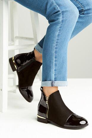 Krush Patent Boot