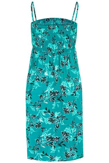 Leaf Print Multiway Beach Dress