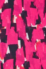Akel Bright Pink Pattern Scarf