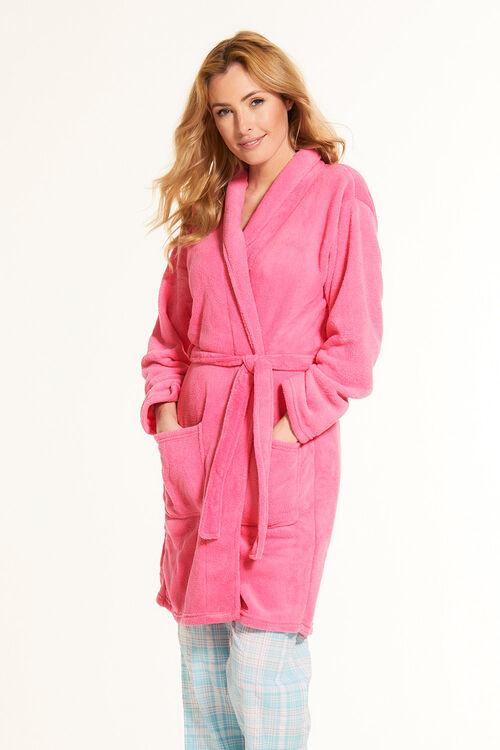Plain Pink Robe
