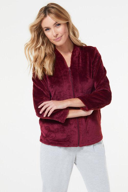 Rose Jacquard Bed Jacket