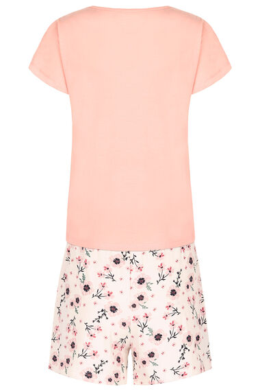 Embroidered Pyjama Short Set