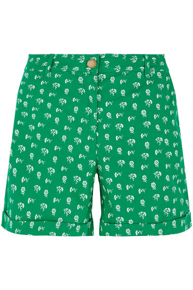 Ditsy Print Brushed Cotton Short