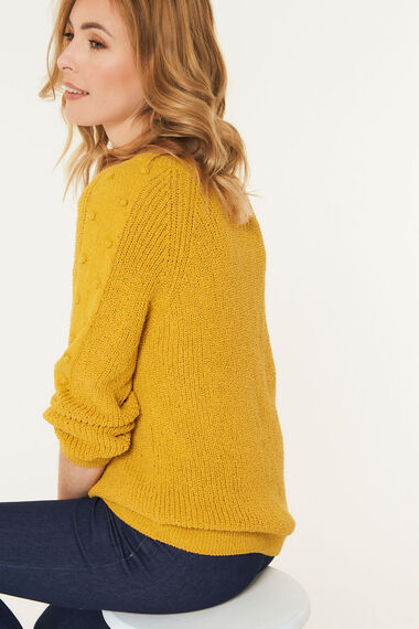 Bobble Sleeve Jumper