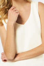 Ivory Cami with Cross Back Detail