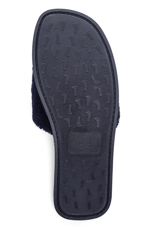 Towelling Open Toe Slipper