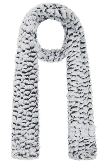 Faux Fur Textured Scarf