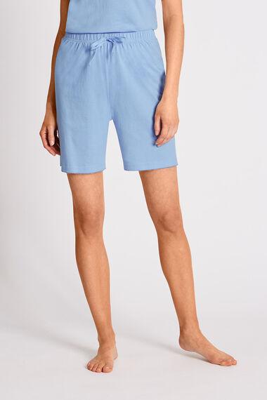 Blue Jersey Short