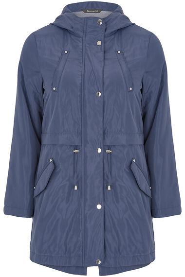 Jersey Lined Parka Coat