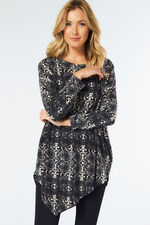 Stella Morgan Snake Print Top