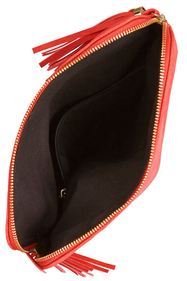 Tassel Detail Cross Body Bag
