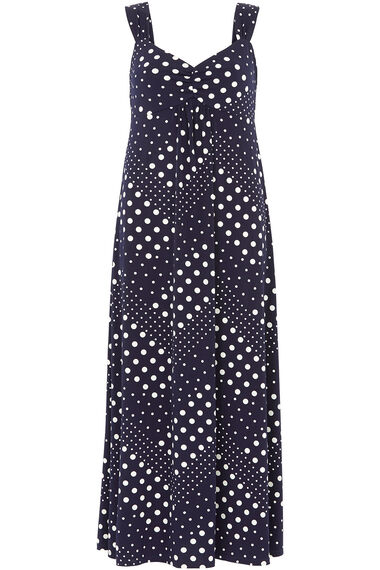 Spot Maxi Dress