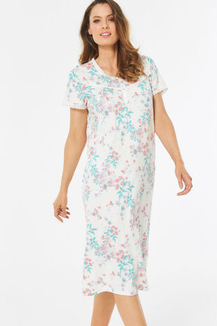 c0f47f623c Ladies Night Dresses | Long & Cotton Night Dresses | Bonmarché