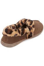 Animal Print Slipper
