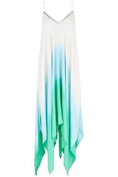 Dip Dye Hanky Hem Dress