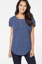 Stella Morgan Lace Zip Detail Top