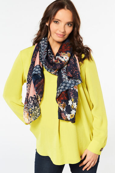Totes Patchwork Scarf