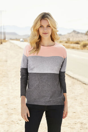 Stella Morgan Colour Block Jumper