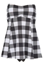 Gingham Multiway Swimdress